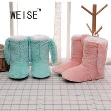 WEISE New Arrival 2017 Lovely Penguin Slippers Women slippers Soft-Soled Slippers Women Shoes Indoor Slippers Winter Foot Warmer