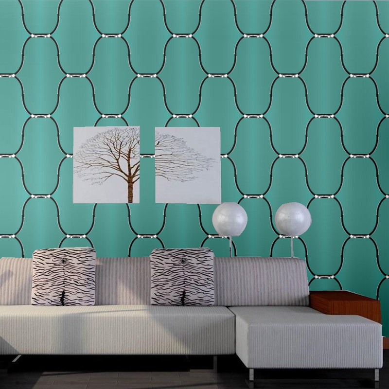 Modern 3D Wallpaper for Walls Large Plaid Zipper Wall Paper Roll for TV and Sofa Background Waterproof Blue Rose Red Wallpapers wallpaper for walls 3 d large photo wallpaper cartoon wallpaper for child room tv background wall paper wallpaper modern