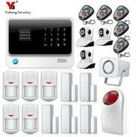 Yobang безопасности GSM сигнализация Беспроводной WI FI GPRS sms тревоги Системы s безопасности дома Alarma + Yoosee ip камеры видеонаблюдения Системы
