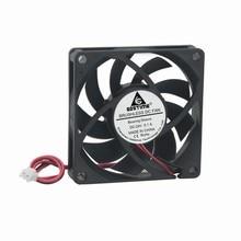 5 pcs/lot New PC Case Fan 70mm x 70mm x 15mm 24V 2 Pin DC Brushless Cooling Cooler Fan
