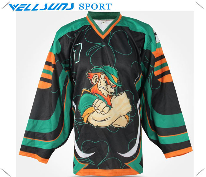 Custom team ice hockey shirts with best quality in hockey for Custom sports team shirts