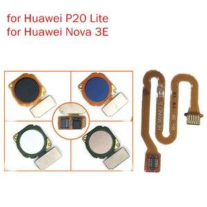 Image 1 - for Huawei Nova 3E/ P20 Lite Fingerprint Sensor Scanner Connector Home Button Key Touch ID Flex Cable Repair Spare Parts Test QC