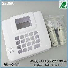 1 шт, главная охранной сигнализации оборудования ящик 65*198*225 мм 2.6*7.8*7.9 inch пластиковый корпус электронных security box