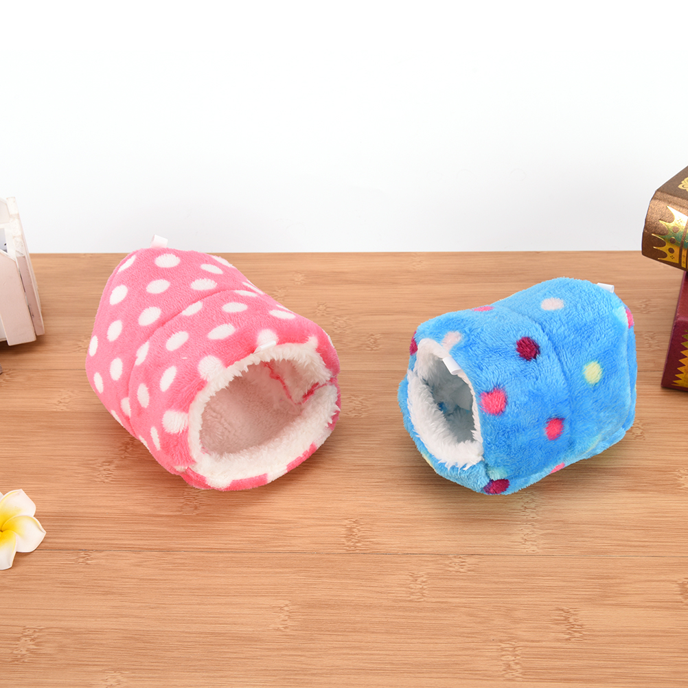 Pig/cat/dog Chinchillas Squirrel Bed Nest Hamster House Cage Accessories Mini Animals Hamster Bed Cotton Pet Nest #4