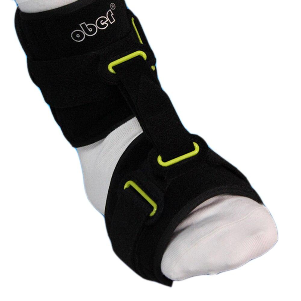 Sprunggelenk Fuß Drop Orthese Einstellbar Knöchel Brace Korrektur AFO Unterstützt Plantar Fasciitis Tag und Nacht Schiene Orthesen