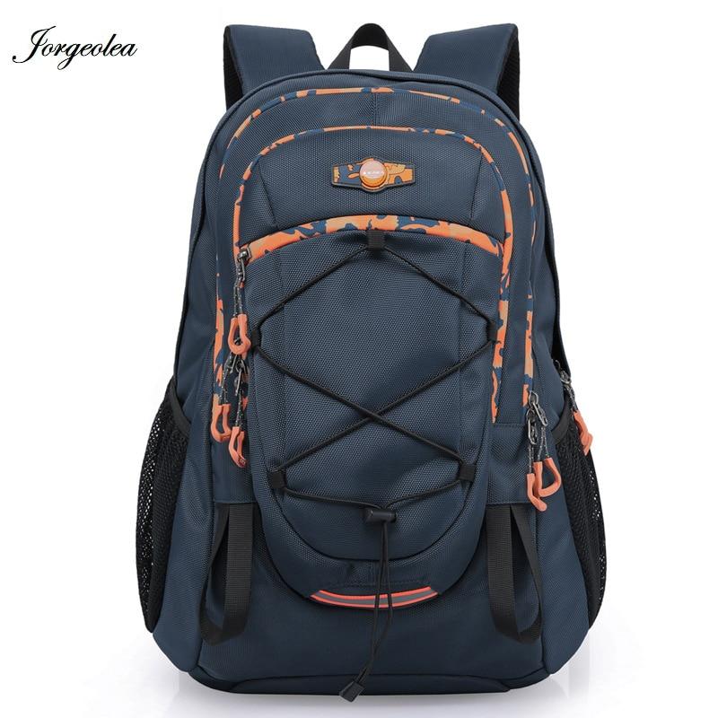 Jorgeolea 2018 New Travel Bag Backpack Male Waterproof Backpack Road Bag Knapsack Daypack Bicycle Accessories Shoulder Bag 0415