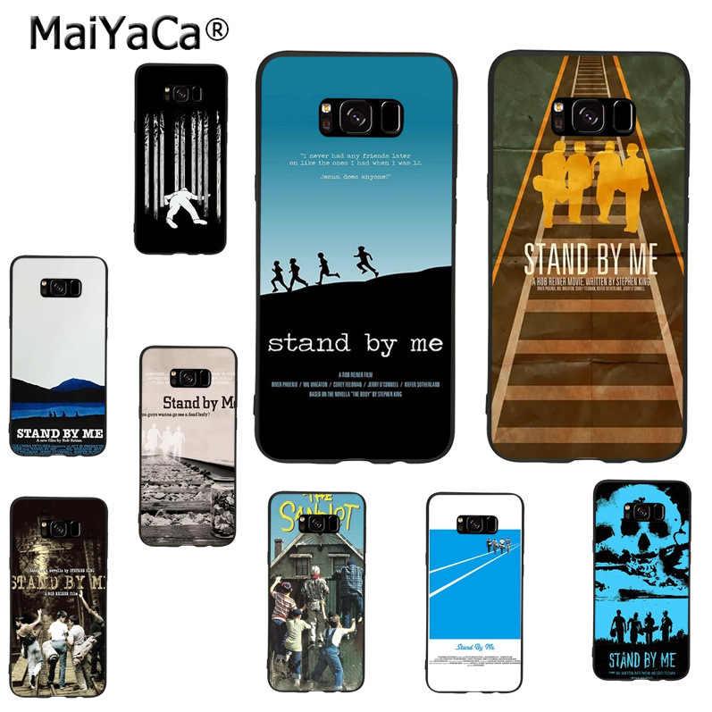 MaiYaCa conmigo patrón accesorios del teléfono caso de la cubierta para samsung galaxy s8plus s9plus s7 s6 note8 Nota 5 4 caso