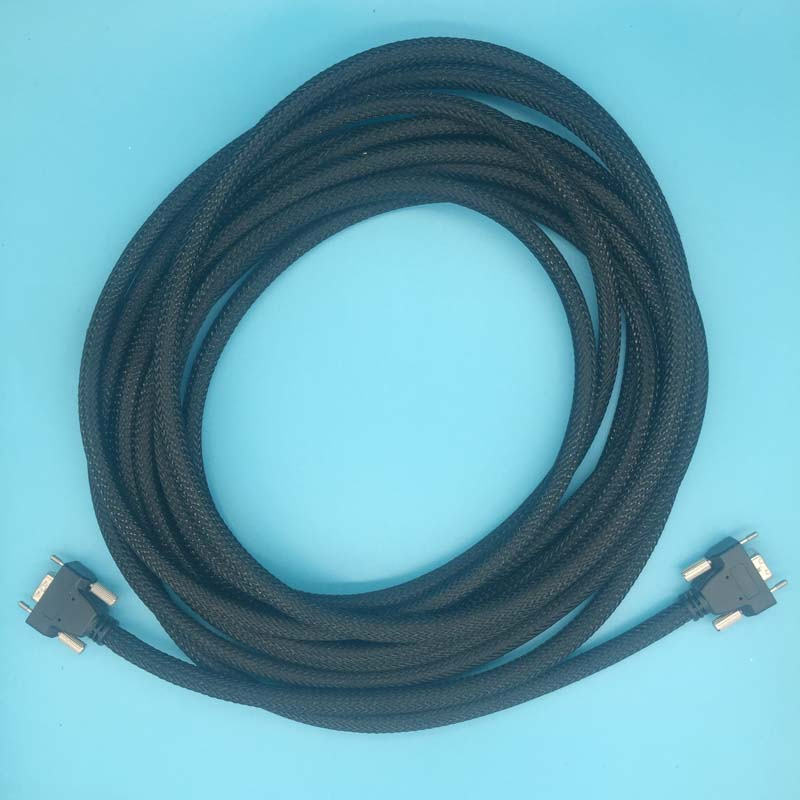4Meter black DX5 high density cable Eco solvent printer Allwin Human Xuli X6 LVDS data cable mainboard cable