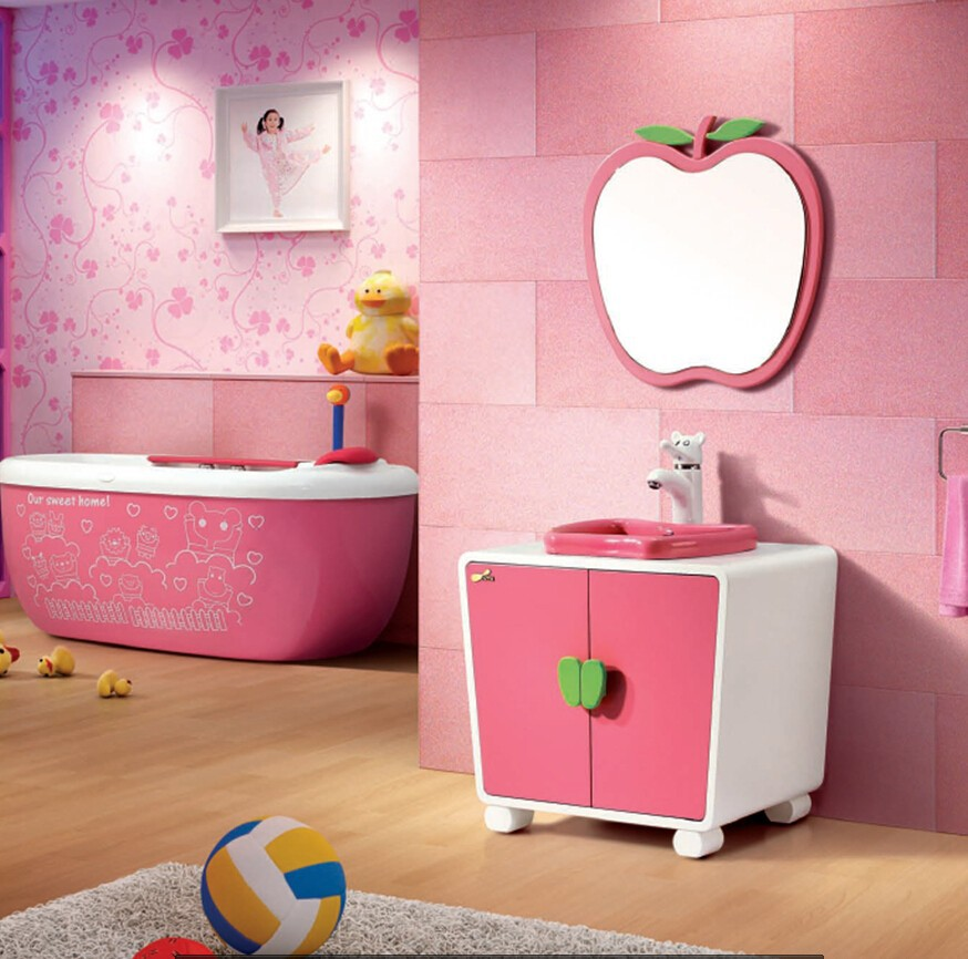 Spa Baby Bathtub Children Pink Bathtub, Optional Sky Blue Bathtub ...