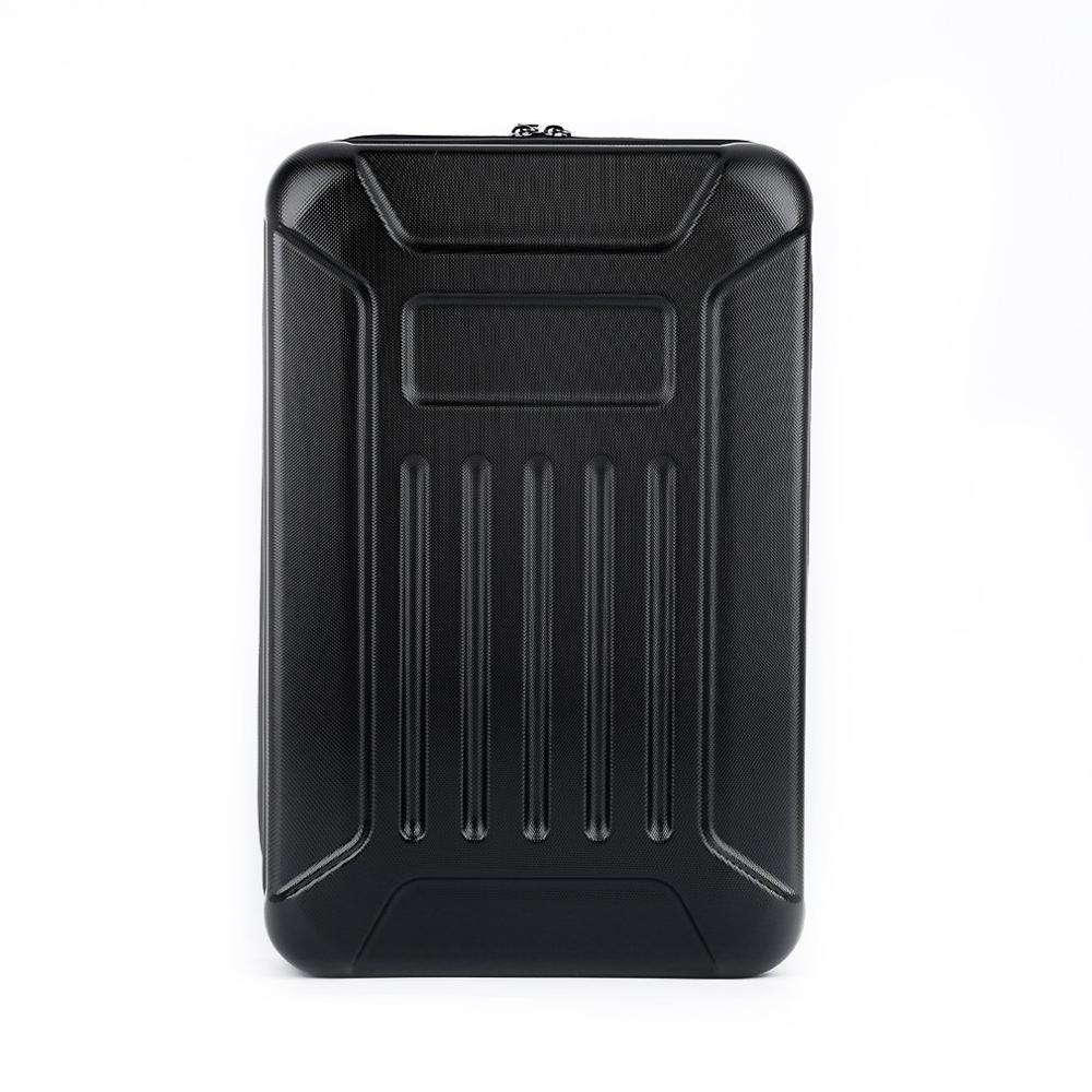 Black ABS Hard Shell Backpack Case Bag for Hubsan X4 H501S Quadcopter