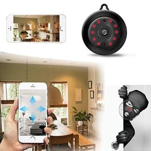 Image 4 - Tendway מיני מצלמות וידאו WIFI 720P IP מצלמה אלחוטי קטן CCTV אינפרא אדום ראיית לילה זיהוי תנועת כרטיס Sd חריץ אודיו App
