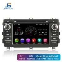 JDASTON Android 9.1 Car Multimedia Player For Toyota AURIS 2013 2014 2015 2 Din Car Radio GPS Navigation DVD CD IPS Stereo WIFI