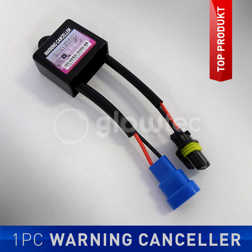 1Pc XENON ERROR FREE Warning Canceller HID CAR Lights Decoder Auto HID Lamp Relay Capacitor Load Resistor Canbus GLOWTEC