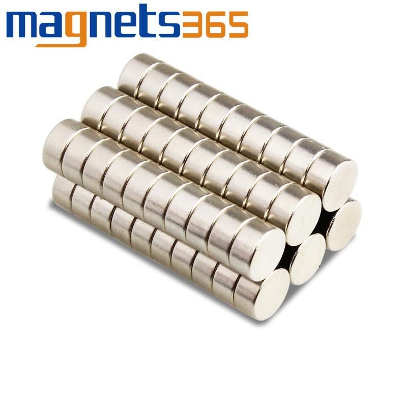 Lots Strong Round Magnets 8 mm x 2 mm Toy Disc Rare Earth Neo Neodymium N35