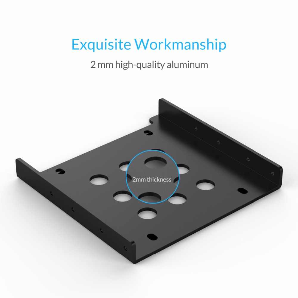 ORICO AC325-1S Nhôm 2.5 đến 3.5 inch Ổ Cứng Miễn Phí Lắp Đặt Ốc Vít Hỗ Trợ SATA/SSD và IDE cổng