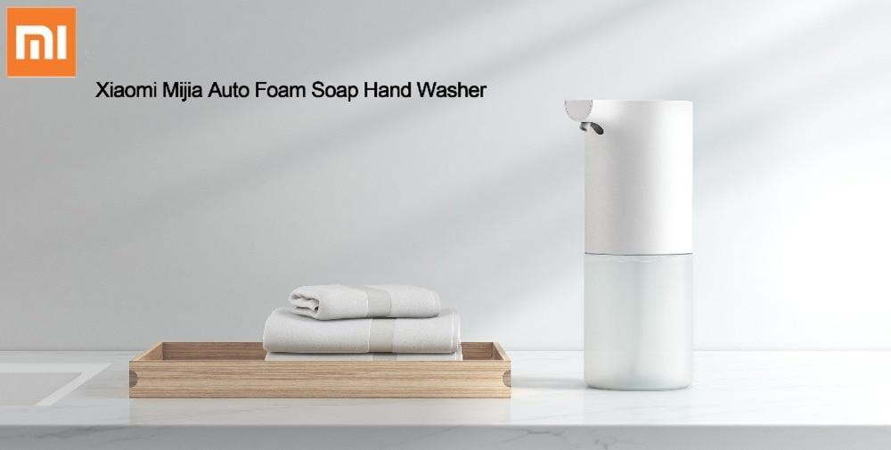 XIAOMI Mijia Otomatik Köpüklü El Yıkama ile artık sabuna dokunma derdi bitiyor. Microplardan bir adım daha uzak durmak için birebir!Sensörlü sıvı sabunluk!