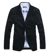 Blazer Men Luxurious Nobility Fashion Men's Blazer Slim Corduroy Casual Brief Flannelette Men Suit Jacket Men's Clothing