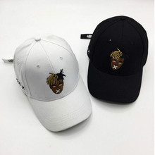 Мода папа шляпа для мужчин хлопок вышивка K Поп Бейсбол кепки хип Snapback шапка-Кепка унисекс рэп бейсболка Боб Прямая