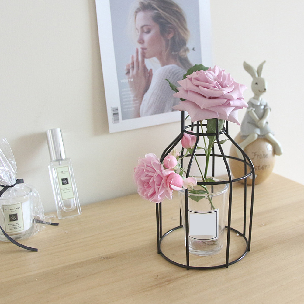 Nordic Style Iron Art Wire Flower Pot Set, iBuyXi.com, Exclusive offer, Household items, Wall decoration, Living room decoration