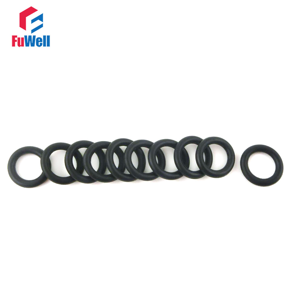 20pcs 3mm Thickness Black O Ring Seal NBR Oil Resistant O-Ring Sealing Gaskets 10/11/12/13/14/15/16/17/18/19/20mm OD O Type Ring