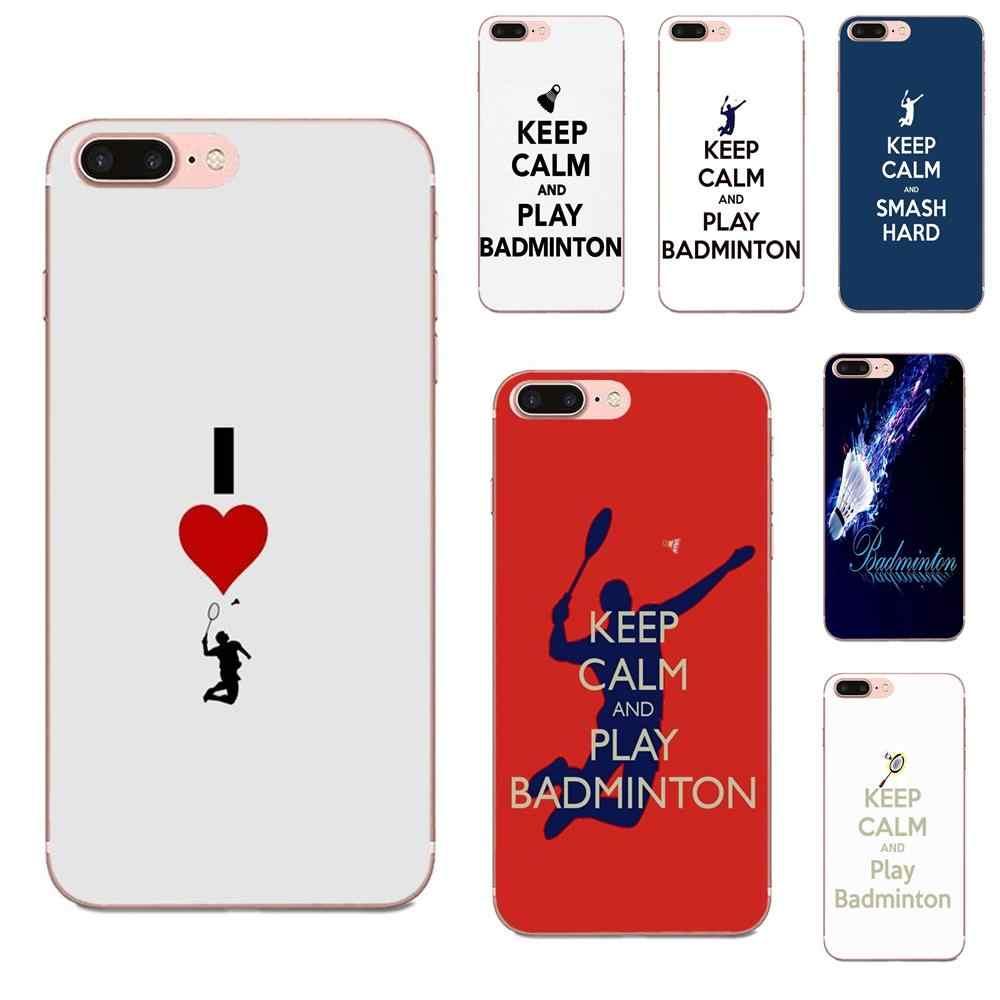 Oedmeb Fashion Play Badminton For Apple Iphone X Xs Max Xr 4