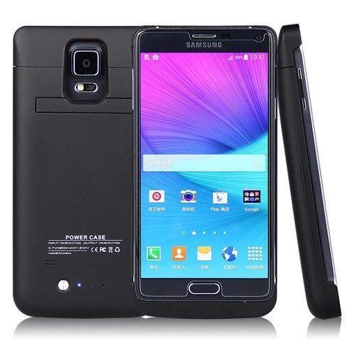 4800 мАч Расширенный Аккумулятор Power Pack Зарядное Устройство Чехол Для Samsung Galaxy Note 4