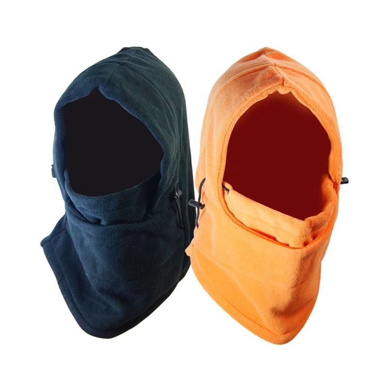 Winter Fashion Unisex Beanies Windproof Warm Skullies  Bike Motorcycle Neck Warmer Helmet Hat Thermal Fleece Balaclava Caps