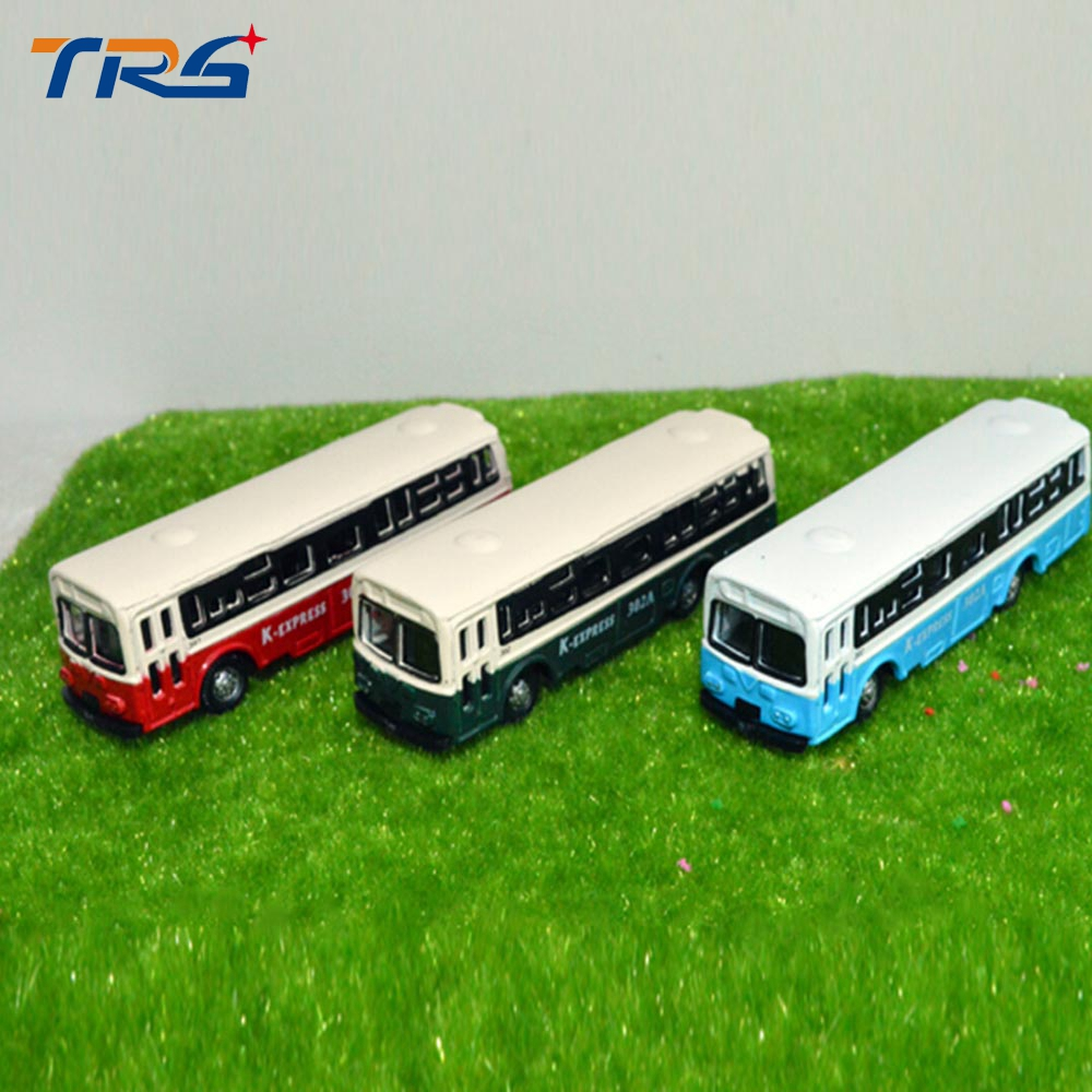 Teraysun Model Cars Buses 1:150 HO TT Scale Railway Layout Diecast NEW