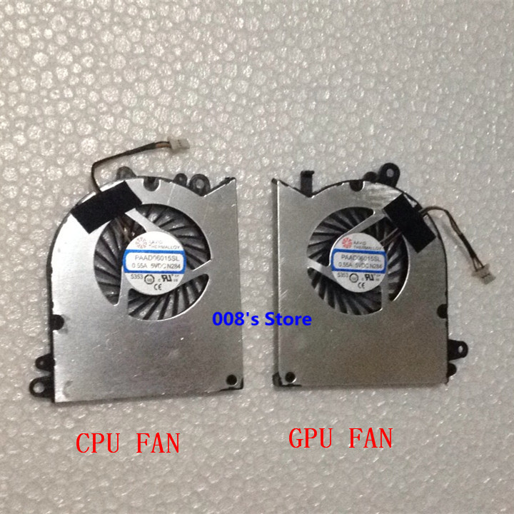 New Laptop CPU GPU Cooler OEM Fan For MSI GS60 2QE 2PE Paad06015sl Laptop CPU / Graphics Card Cooling