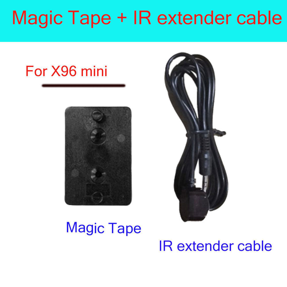 IR extend cable and magic tape for android tv box X96 mini