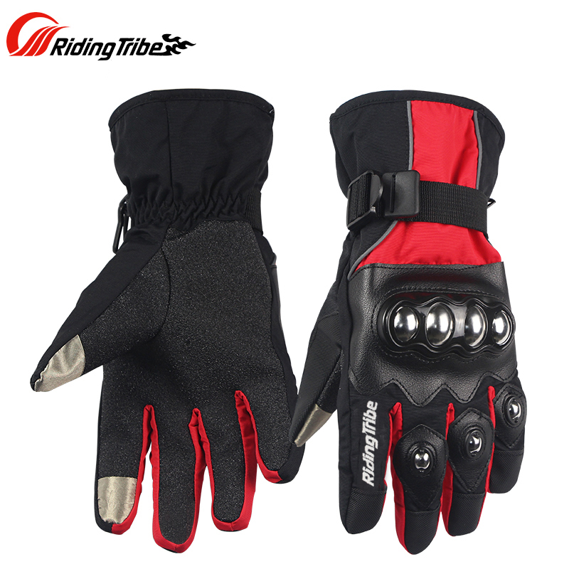 Motorcycle Sport Winter Skiing Gloves Snowboard Racing Glove Touch screen Waterproof Glove Motocross Cycling Gloves Guantes luva