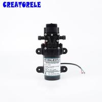 FL 2202 12V DC Mini Submersible Diaphragm Vacuum pump 20m lift High Pressure water pumps self priming