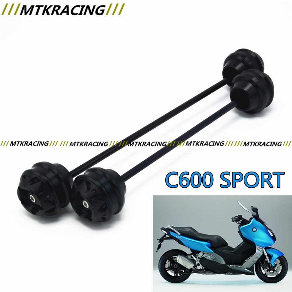 MTKRACING Free shipping for BMW C600 SPORT 2012-2015 CNC Modified Motorcycle Front wheel drop ball / shock absorber mtkracing free delivery for kawasaki z1000sx 2011 2015 cnc modified motorcycle front wheel drop ball shock absorber