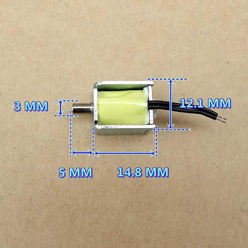 DC 3 V 100mA 0.15 W Micro Solenoide Valvola Sfigmomanometro Valvola di Sfiato Normalmente Aperto di Aria di Scarico Diametro Della Valvola Elettromagnetica 3mm