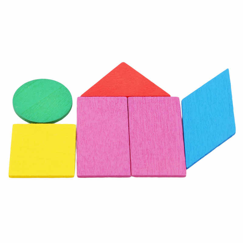 Children Montessori Educational Toy Baby Math Circular Color Wooden Toys For Or Kids Figure Arithmetic Wood