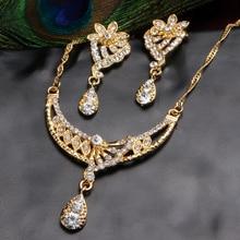 Bridal Jewelry Set Nigerian Wedding Dubai Gold Jewelry Sets for Women African Big Flowers
