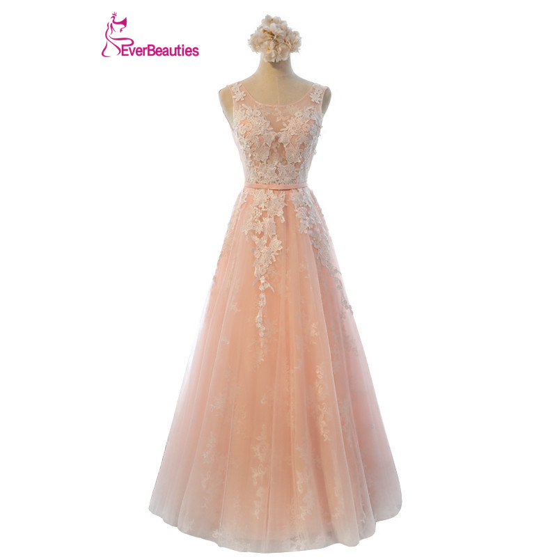 Robe De Soiree Evening Dresses Long Plus Size Tulle Prom Lace Up Party Gowns Elie Saab