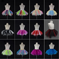 Cute Child Petticoats Colored Tulle Childern Underskirts Colorful Puffy Crinoline Petticoat Wedding Accessories