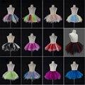 Cute Child Petticoats Colored Tulle Childern Underskirts Colorful Puffy Crinoline Petticoat Wedding Accessories