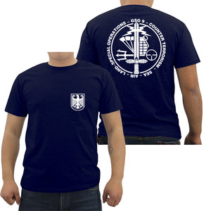 Summer Mens Cotton T-shirt GSG 9 Police German Counter Terrorism Special Operations Unit T Shirt Male Hip Hop Tees Cool Tops