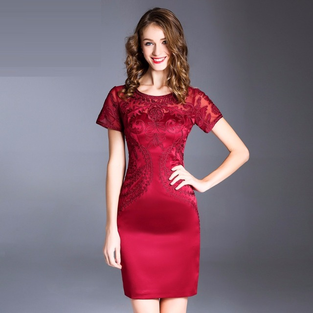 414b9cc852d pack hip Pencil dress 2017 new luxury spring autumn vintage work clothing  women dresses plus size XXL sexy Christmas Party Dress