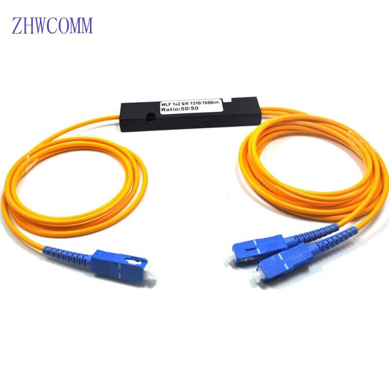 ZHWCOMM 10 STÜCKE SC/UPC 1X2 fiber optic splitter PLC Einzigen mod Fiber splitter FBT Optische Paar-in Glasfaser-Ausrüstungen aus Handys & Telekommunikation bei AliExpress - 11.11_Doppel-11Tag der Singles 1