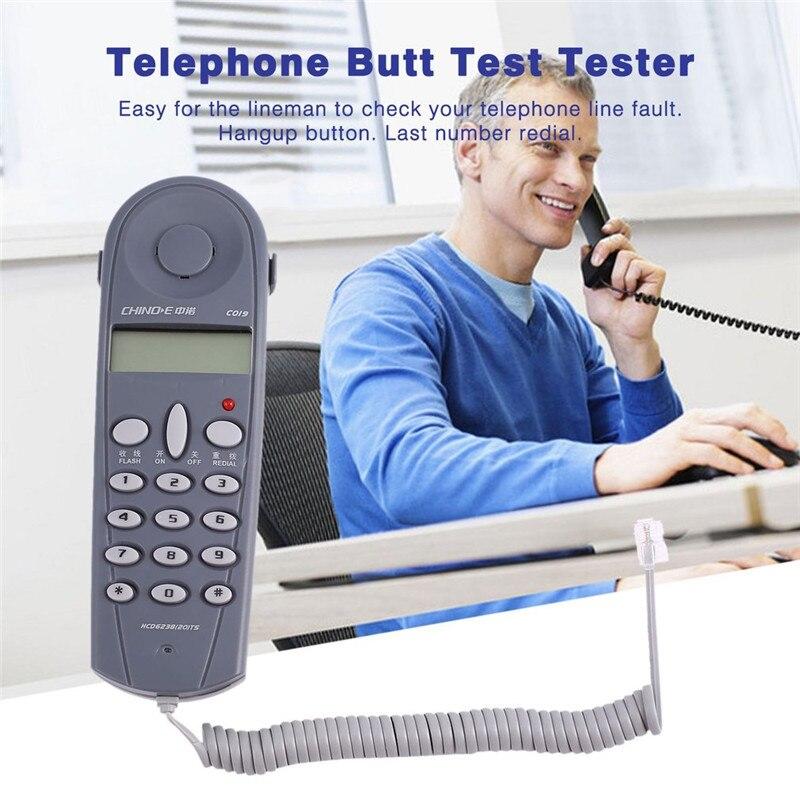 Телефон Батт Тесты er Обходчик инструмент сетевой кабель Set профессиональное устройство C019 проверьте для линии разлома Сетевые средства