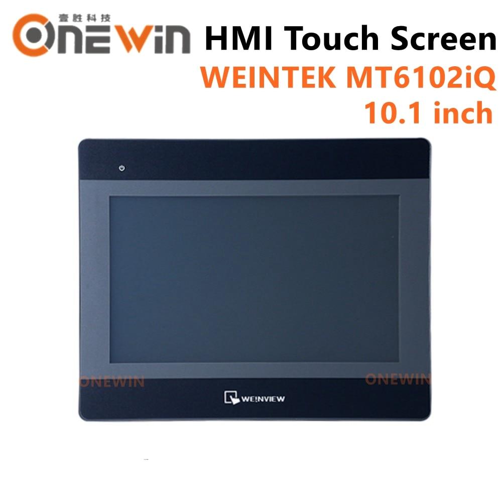 Weinview mt6102iq hmi tela de toque 10.1 polegada 1024*600 usb host nova interface da máquina humana exibição