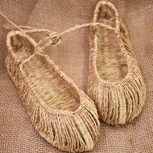 Sandals Shoes Straw-Slippers Comfortable Summer Fashion Ladies Unisex AGESEA Couple Handmade