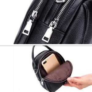 Image 5 - Moda torba na ramię kobieta projektant mini kobieta skórzana torebka wysokiej jakości luksusowe zielone miękkie oryginalne skórzane torby na ramię