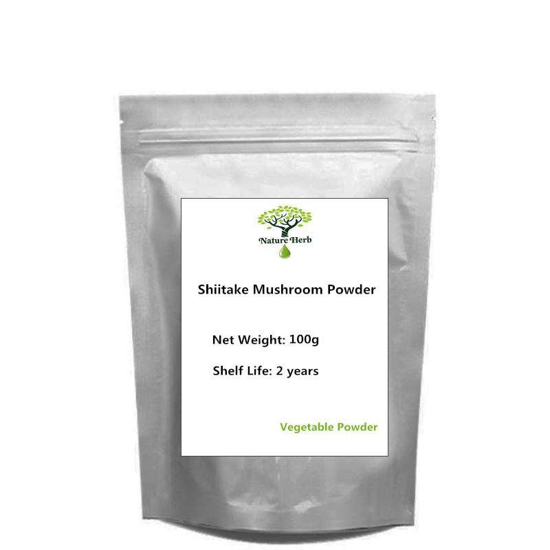 Порошок гриба шиитаке 100% чисто естественных пищевых добавок 100 г g ~ 1000 г