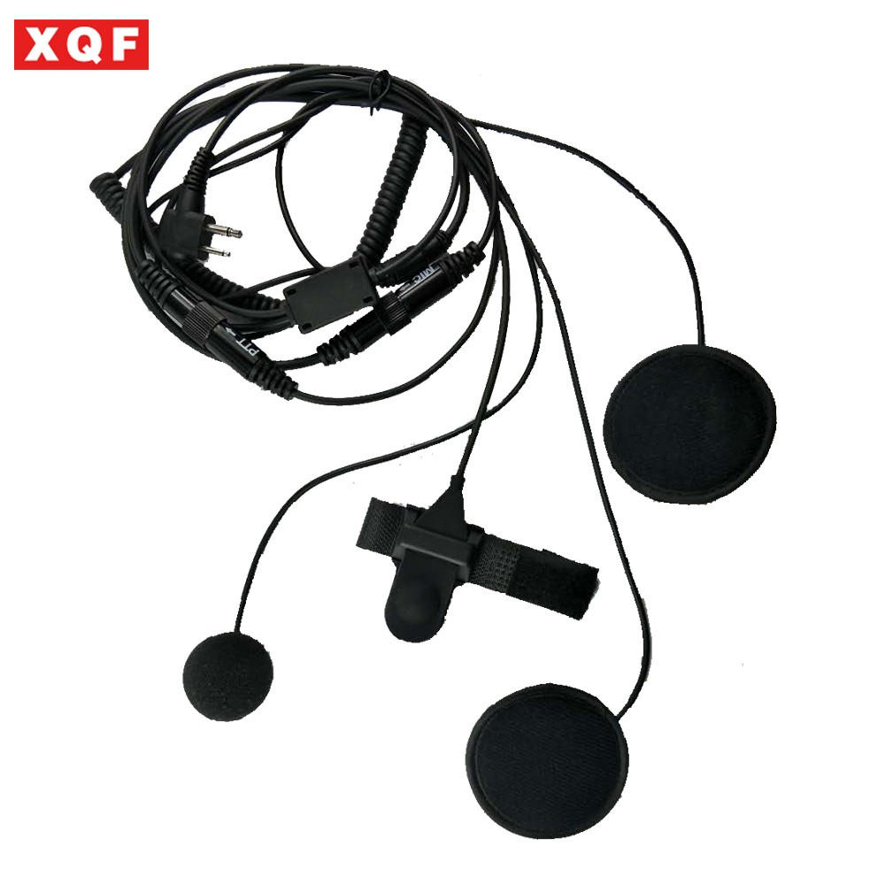 Brand  2 Pin Motorcycle Full Face Helmet Headset Earpiece For Motorola GP68, GP88, GP88S CP150, CP200 XTN446 CT150, CT250 Radio