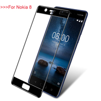For Nokia 8 Front Screen Protector Film For Nokia 8 Tempered Glass For Nokia8 Full Coverage
