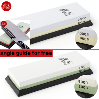 TAIDEA whetstone sharpener knife sharping tools White corundum 1000#3000# 3000#8000# anger guide for free free shipping